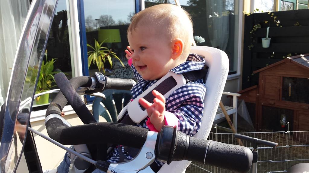 lol op de fiets