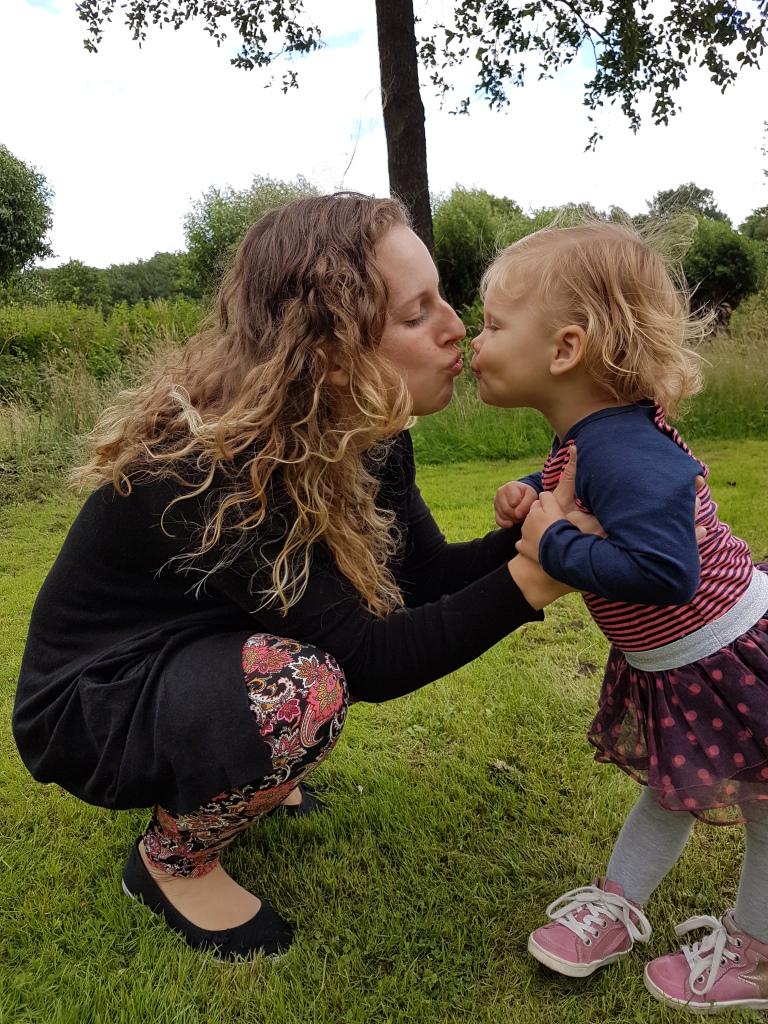 kayleigh en mama