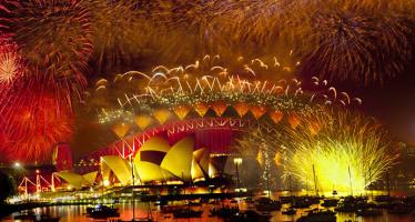 Vuurwerk Sydney